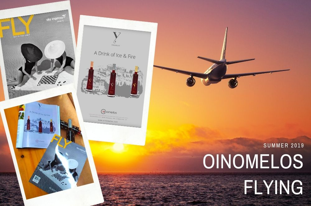 Oinomelos flying with Fly Magazine
